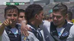 ¡Nadie lo pudo detener! Emiliano Ozuna anota el 0-1 de Celaya