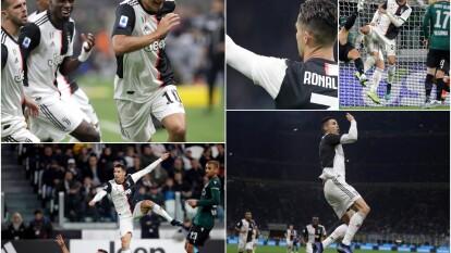 Juventus continúa invicto en la Serie A tras consumar su séptimo triunfo en ocho partidos de la liga italiana. Son líderes con 22 puntos.