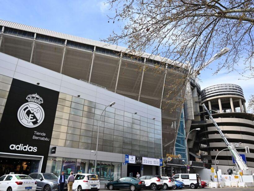 FBL-STADIUM-REAL-MADRID