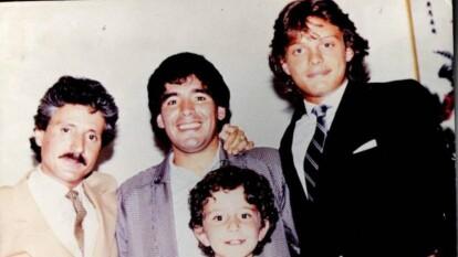 Luis Miguel tuvo la dicha de ser amigo de Maradona.