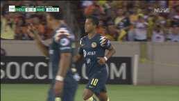 Giovani dos Santos entra de cambio y hace su debut con el América