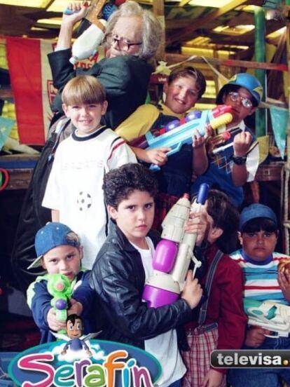 """'Serafín' fue una telenovela mexicana infantil de 1999 realizada por el productor José Alberto """"El Güero"""" Castro."""