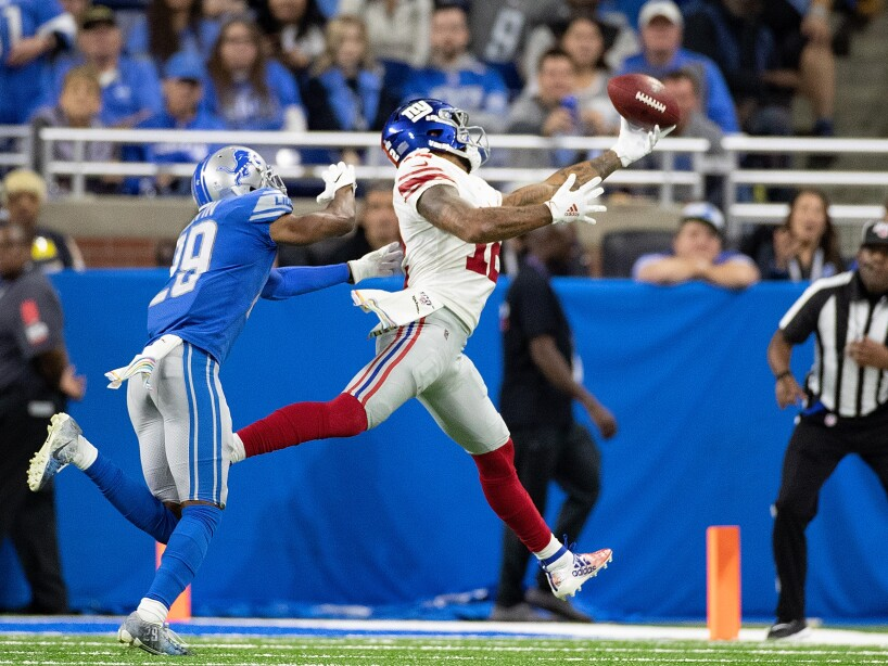 New York Giants v Detroit Lions