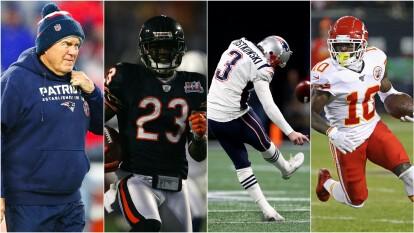 Estos fueron los dos coaches y los jugadores de equipos que pertenecen al equipo de los últimos 10 años en la NFL ¿Qu´e te parece?