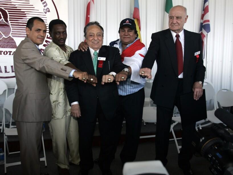 Ricardo Lopez, Pernell Whitaker, Jose Sulaiman, Roberto Duran, Amilcar Brusa
