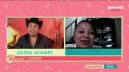 Buenos Días Bandamax: Julión Álvarez consiente a sus fans y les responde sobre su trabajo y familia