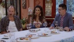 La cena con Frankie