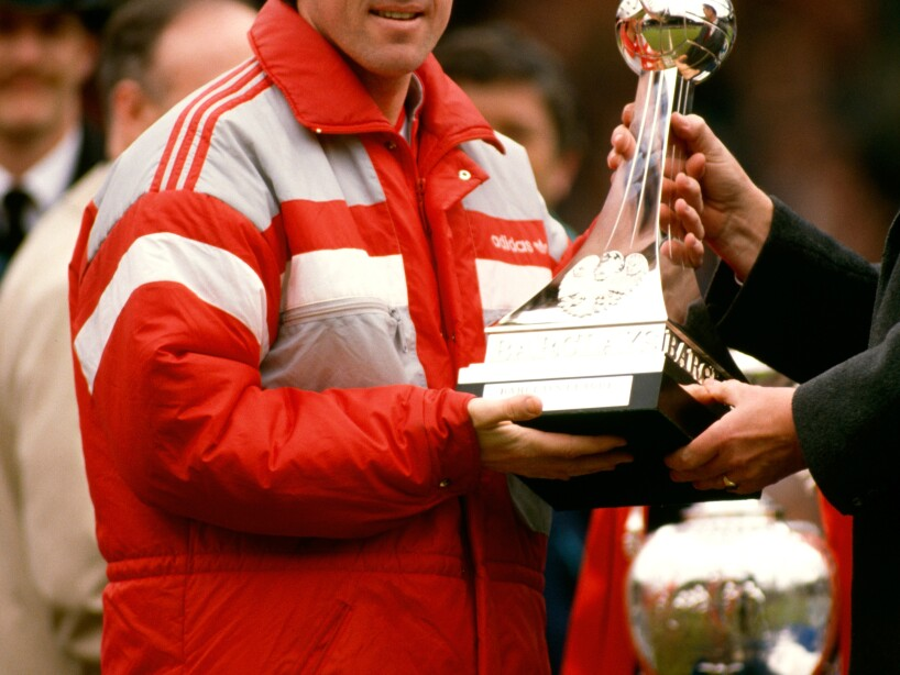 Kenny Dalglish Liverpool Manager May 2nd 1988