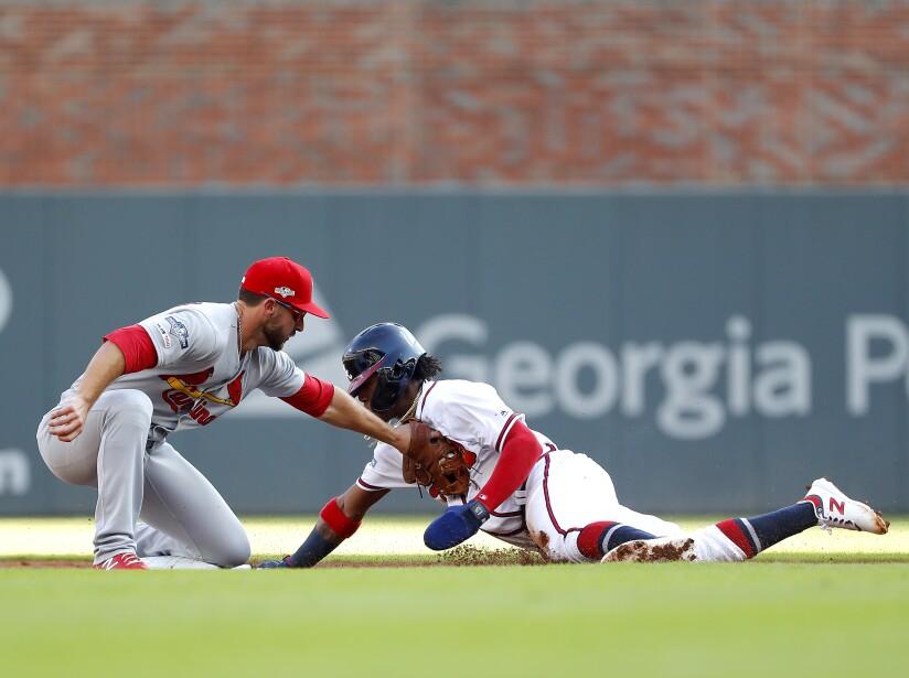 Saint Louis se lleva el primer juego del divisional 7-6 sobre los Braves.