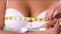 Mitos de los implantes de mama