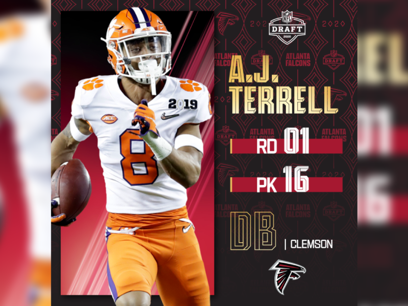 A.J. Terrell, NFL Draft, 1.png