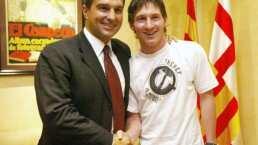 Ahora toca retener a Messi, ¿será que Laporta lo convence?