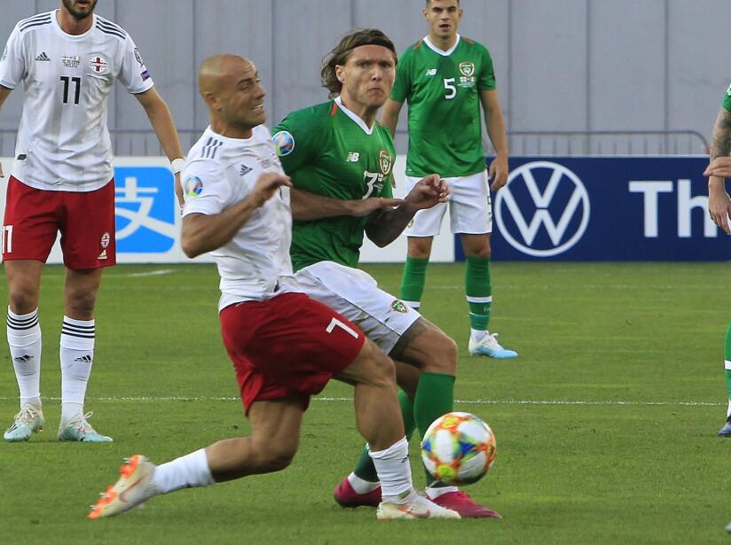 Georgia Ireland Euro 2020 Soccer