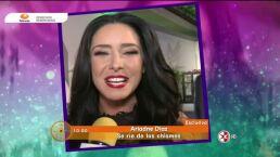 Ariadne Díaz niega romance