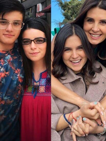 Es común que los famosos compartan fotografías de sus familias, pero algunos como Mayrín Villanueva, Violeta Isfel y Sharis Cid sorprenden por parecer hermanos mayores de sus hijos