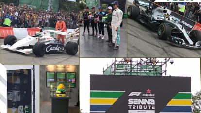 Sao Paulo recibió la presencia de autos icónicos de su carrera y pilotos profesionales en recuerdo al tres veces campeón de F1.