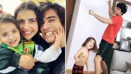 Video: Así bailan y cantan Danilo Carrera y el hijo de Michelle Renaud