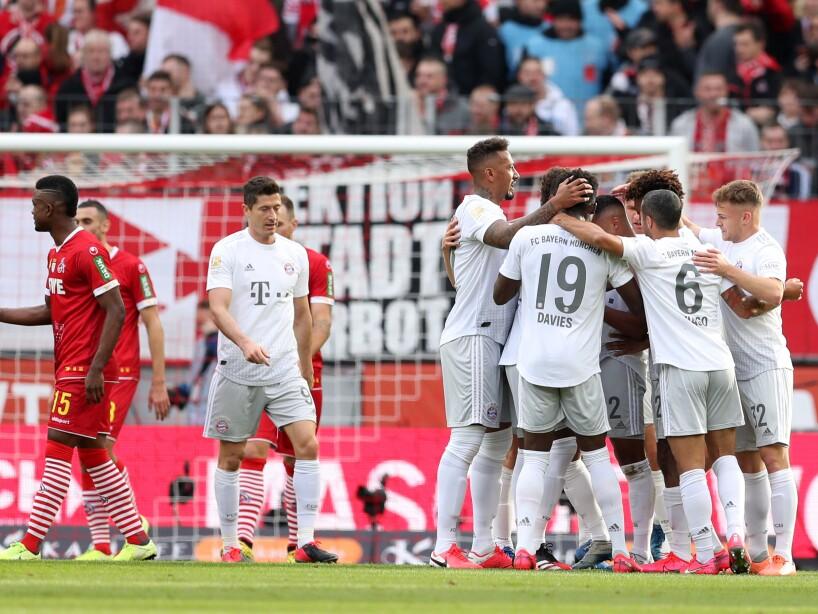 1. FC Koeln v FC Bayern Muenchen - Bundesliga