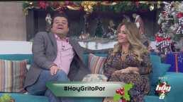 """Andrea Legarreta bromea sobre la paternidad de Jorge 'El Burro' Van Rankin y responde: """"¿Será mía?"""""""