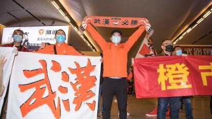 El Wuhan Zall de la Super Liga China regresó al epicentro del coronavirus luego tras 104 días de la explosión del brote. El recibimiento fue muy emotivo.