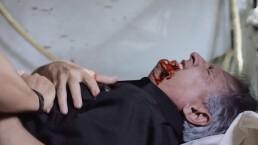 Alfredo muere ayudando a Manu