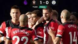 El City cae ante el Southampton con error de Zinchenko