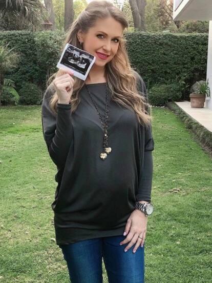 Desde que Ingrid Martz anunció su primer embarazo, no deja de presumirlo en redes sociales