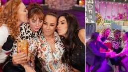 Así fue el amoroso encuentro entre las Netas Divinas y Natalia Téllez tras anunciar su embarazo