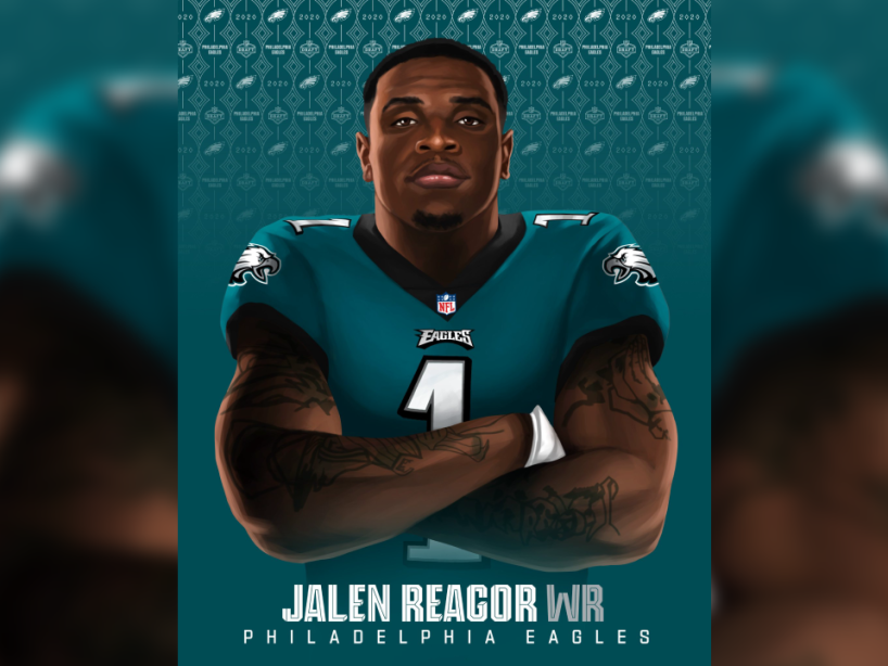 Jalen Reagor, NFL Draft, 1.png