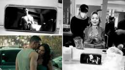 Video: Angelique Boyer se emociona al ver las candentes escenas entre Maite Perroni y Alejandro Speitzer y les desea mucho éxito
