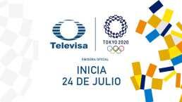 En Televisa y TUDN, a Tokio Vamos Con Todo