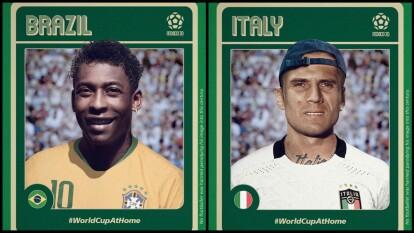 Si los futbolistas que disputaron el Mundial en México 1970 estuvieran 'a la moda' como loos jugadores actuales, así se verían ¡Qué diferencia!