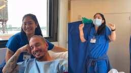 J Balvin fue al hospital a hacerse unos estudios y descubrió que su enfermera y él comparten el mismo tatuaje