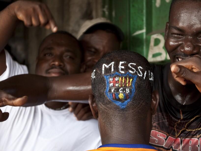 APTOPIX Haiti Soccer Champions League Final