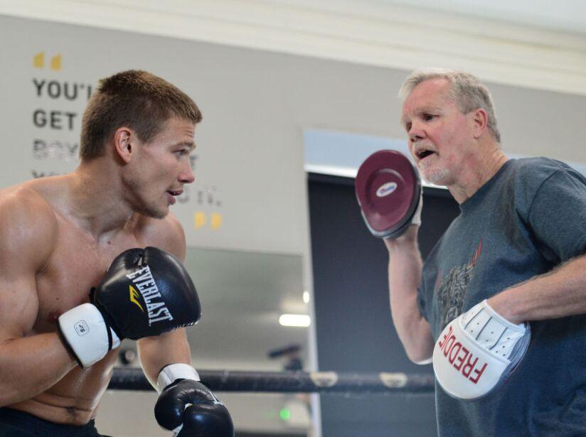 Media Workouts: Muhammad Ali Trophy Semi-Finals - World Boxing Super Series Fight Night