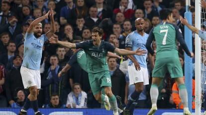 La edición 2018-2019 de la UEFA Champions League tuvo varaios partidos emocionantes y uno de esos fue el que protagonizaron un 17 de abril del 2019 entre Manchester City y Tottenham, para definir al club que accedería a Semifinales.