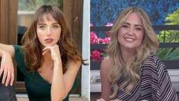 Andrea Legarreta se emociona al ver a Natalia Téllez protagonizando un beso de telenovela