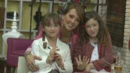 Andrea Legarreta se conmueve al recordar la tierna felicitación de sus hijas cuando eran unas niñas