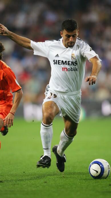 Walter Samuel of Real Madrid