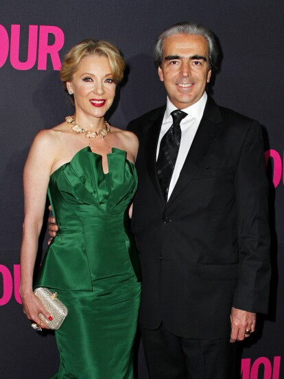 La historia de amor entre Edith González y Lorenzo Lazo inició a finales de 2009.