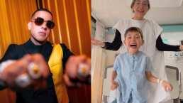 Daddy Yankee manda mensaje a un niño del hospital y lo levanta de la cama a bailar