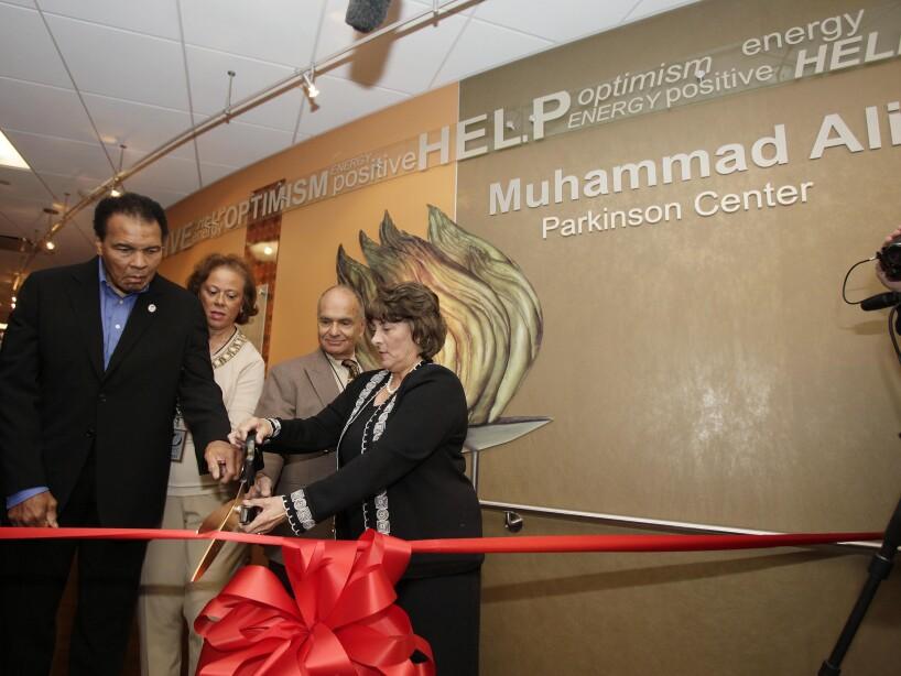 Muhammad Ali, Lonnie Ali, Linda Hunt, Abraham Lieberman