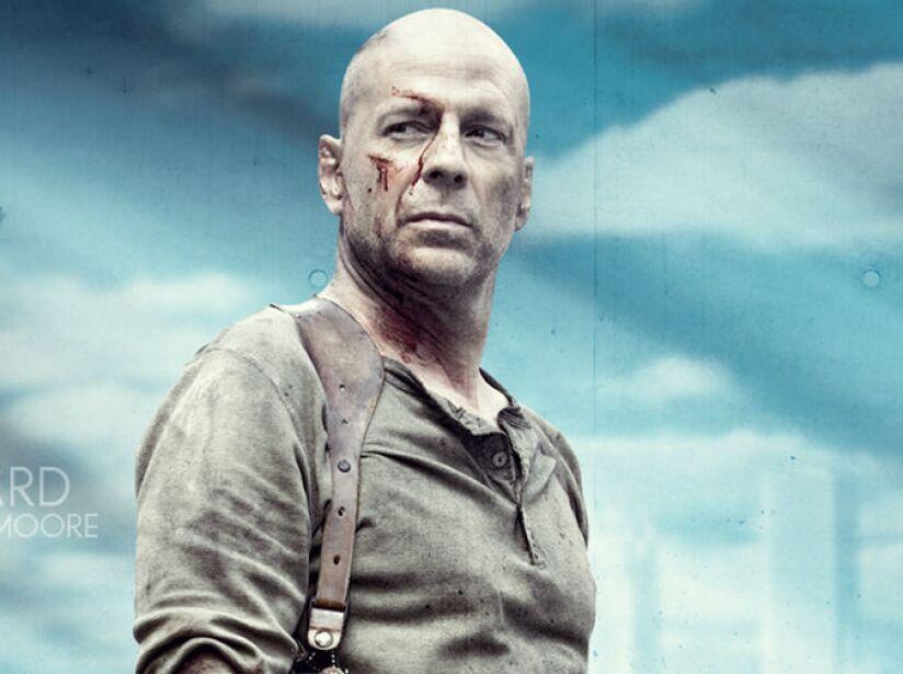 Bruce Willis, nacido en Alemania, el 19 de marzo de 1955, ¿Die Hard les dice algo? ¡Ya van en la sexta secuela!