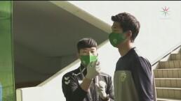 Rueda el balón en Corea del Sur, tras la pausa por el COVID-19