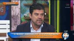 ¡Bebé en camino!: 'El Burro' Van Rankin será papá por tercera vez