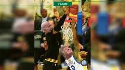 LeBron James celebra victoria de Biden con un meme