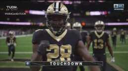 ¡Aumentan los Saints! Brees domina el tiempo y Murray ataca para el TD