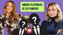 Angelique Boyer, Andrea Legarreta y más famosos que revelaron a su amor platónico