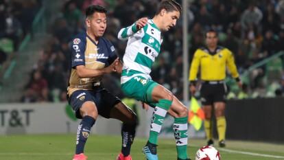 Santos llega a cuatro puntos de 12 posibles con un inicio de torneo aletargado y los auriazules están en tercer puesto con ocho puntos.