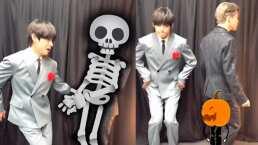 BTS: Algunos de sus integrantes aprovechan los filtros y hacen bailecito de Halloween